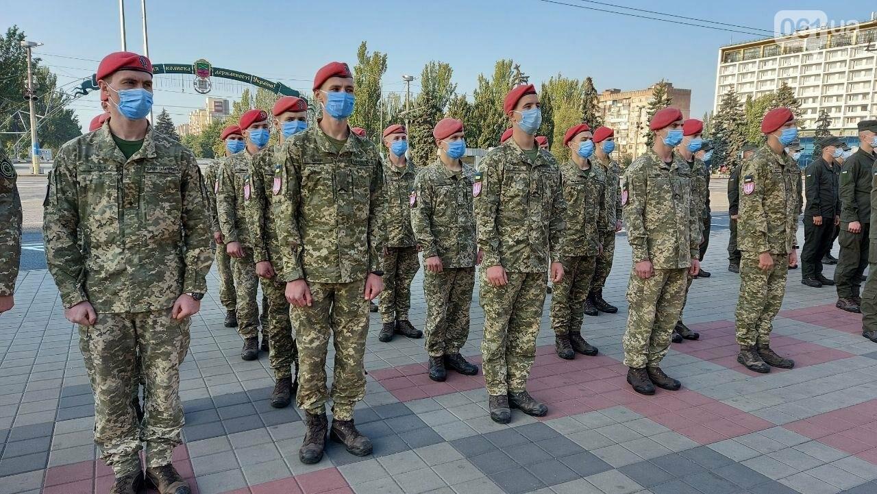 В Запорожье на площади Героев состоялось празднование Дня защитника Украины, - ФОТО, фото-3