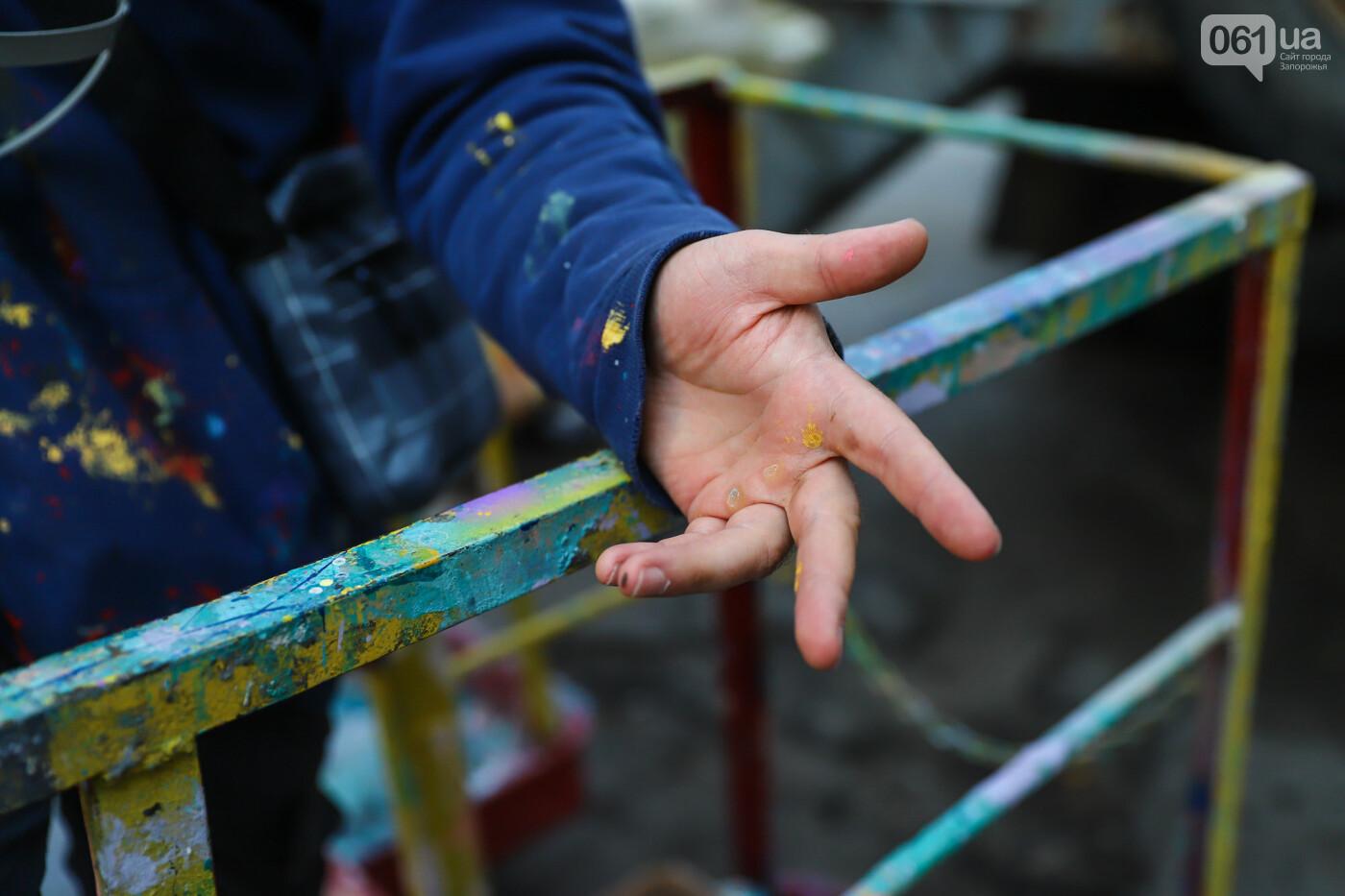 Художник из Нью-Йорка нарисовал мурал к 250-летию Запорожья - ФОТОРЕПОРТАЖ , фото-7