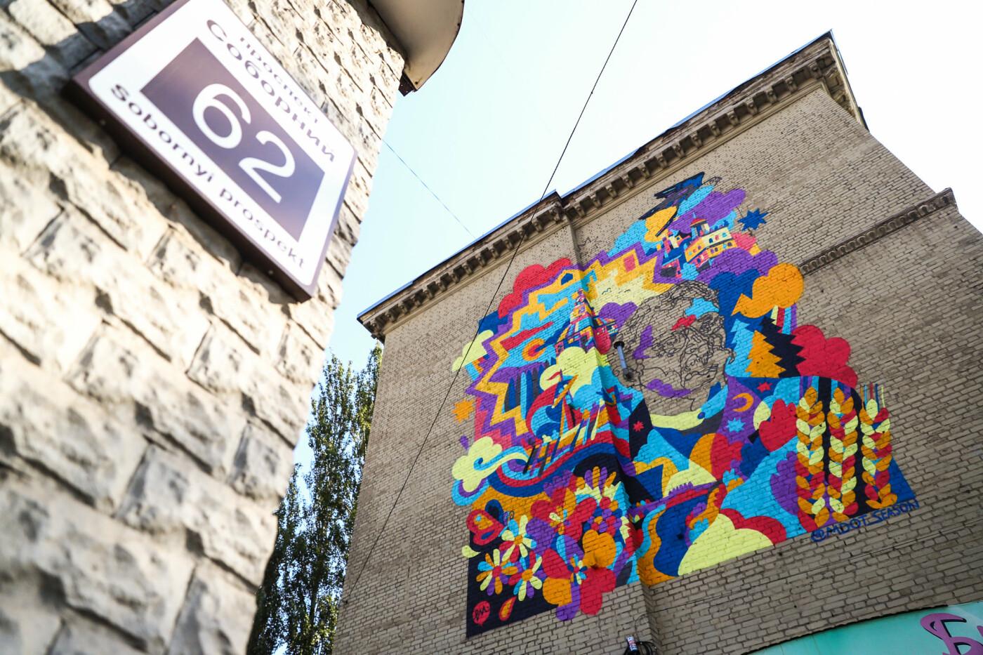 Художник из Нью-Йорка нарисовал мурал к 250-летию Запорожья - ФОТОРЕПОРТАЖ , фото-10
