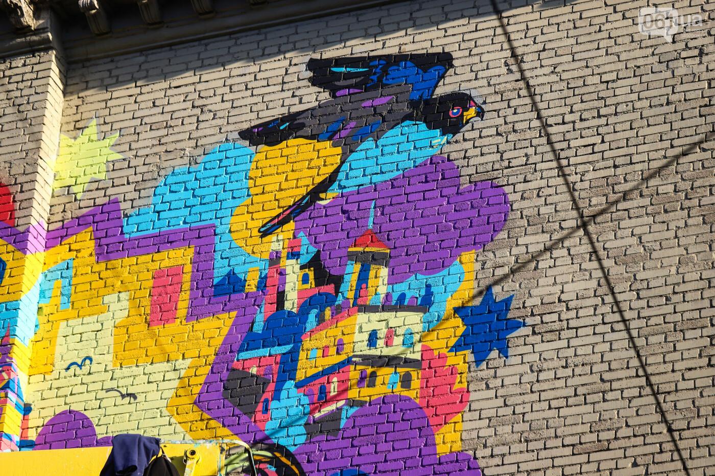 Художник из Нью-Йорка нарисовал мурал к 250-летию Запорожья - ФОТОРЕПОРТАЖ , фото-20