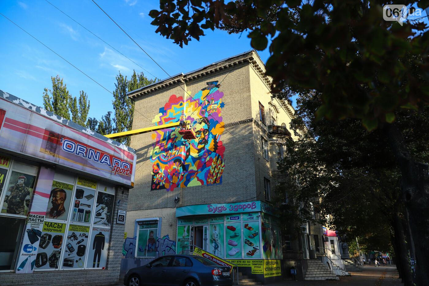 Художник из Нью-Йорка нарисовал мурал к 250-летию Запорожья - ФОТОРЕПОРТАЖ , фото-29