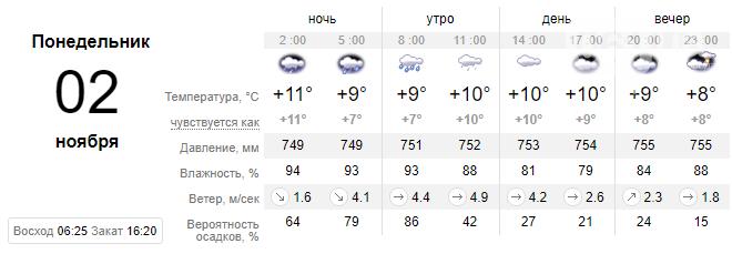 screenshot41 5f9f0f78641f6 - Неделя в Запорожье начнется с неприятного: обещают дожди и грозы