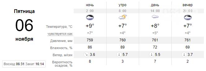screenshot45 5f9f1263d28e7 - Неделя в Запорожье начнется с неприятного: обещают дожди и грозы