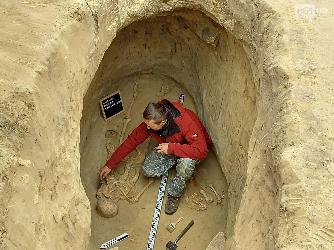 В Запорожье на Хортице нашли захоронение скифского воина, которому 2500 лет, - ФОТОРЕПОРТАЖ, фото-2
