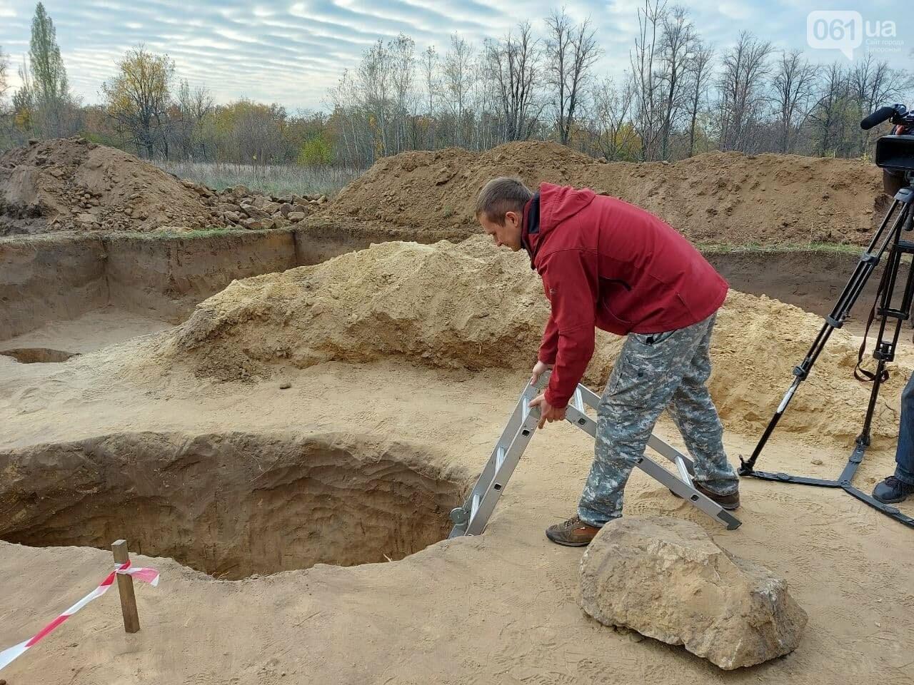 В Запорожье на Хортице нашли захоронение скифского воина, которому 2500 лет, - ФОТОРЕПОРТАЖ, фото-7