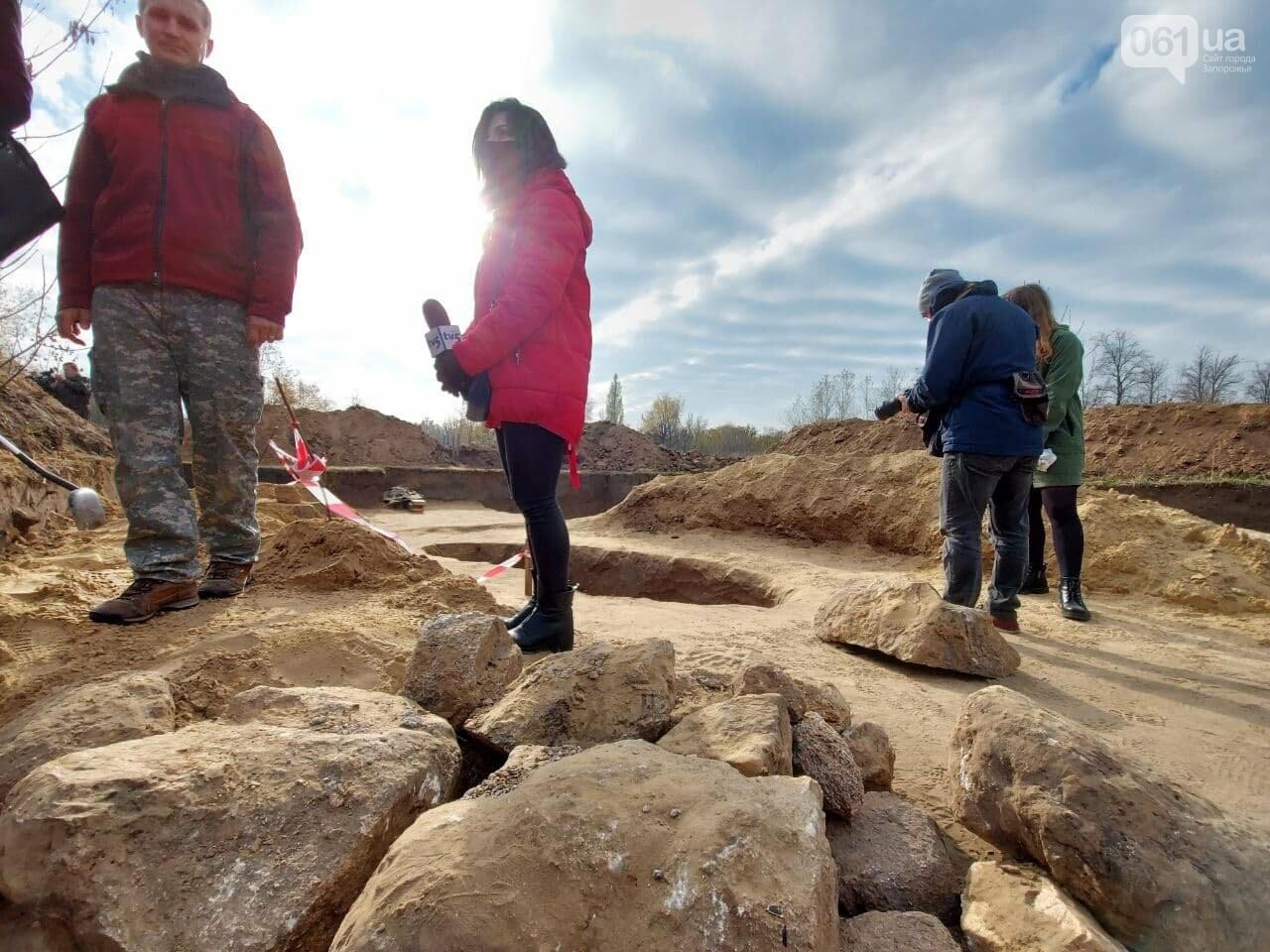 В Запорожье на Хортице нашли захоронение скифского воина, которому 2500 лет, - ФОТОРЕПОРТАЖ, фото-8