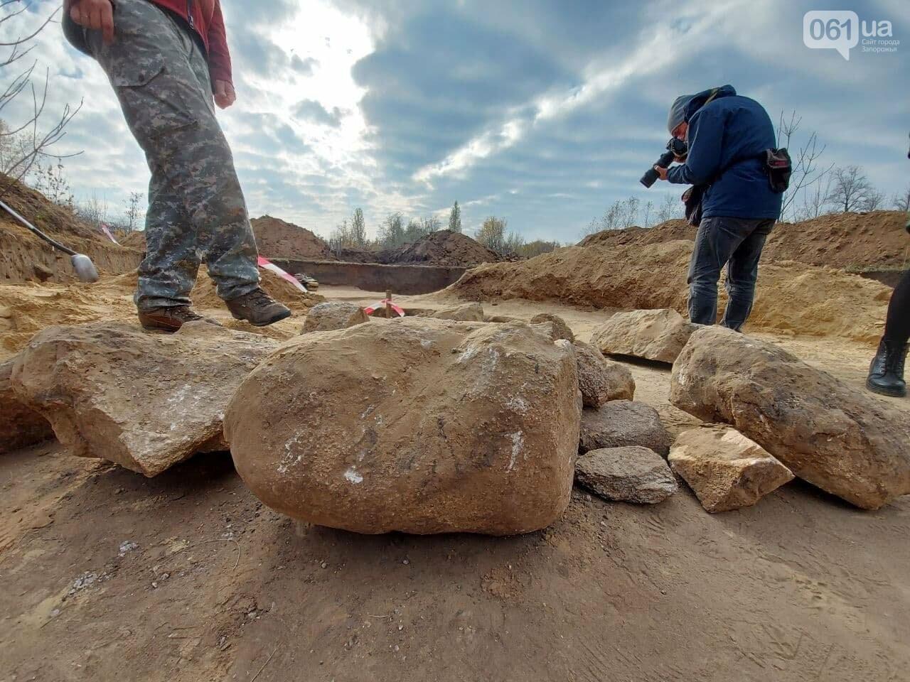 В Запорожье на Хортице нашли захоронение скифского воина, которому 2500 лет, - ФОТОРЕПОРТАЖ, фото-9