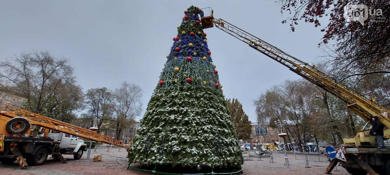 Новые игрушки для елки и обустройство новогоднего городка в центре Запорожья обойдется бюджету в 284 тысячи гривен, - ФОТОРЕПОРТАЖ , фото-2