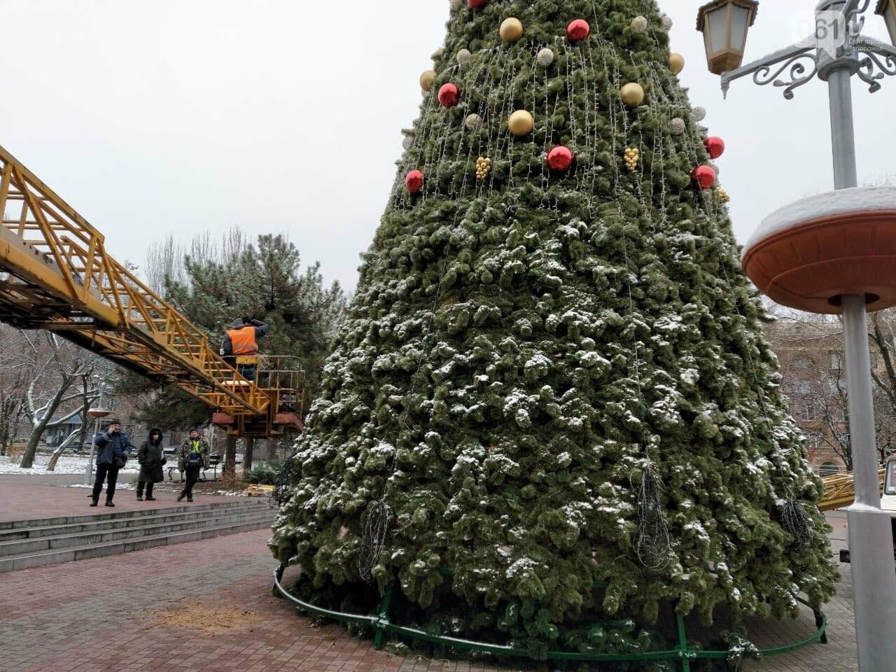 Новые игрушки для елки и обустройство новогоднего городка в центре Запорожья обойдется бюджету в 284 тысячи гривен, - ФОТОРЕПОРТАЖ , фото-10