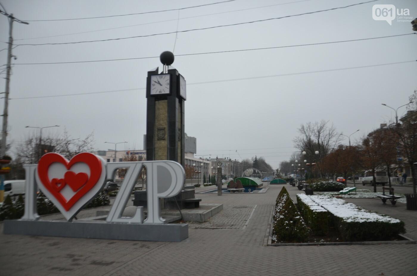 В Запорожье на бульваре Шевченко начали монтировать новогодний городок на БШ за 1,8 миллиона гривен, фото-6
