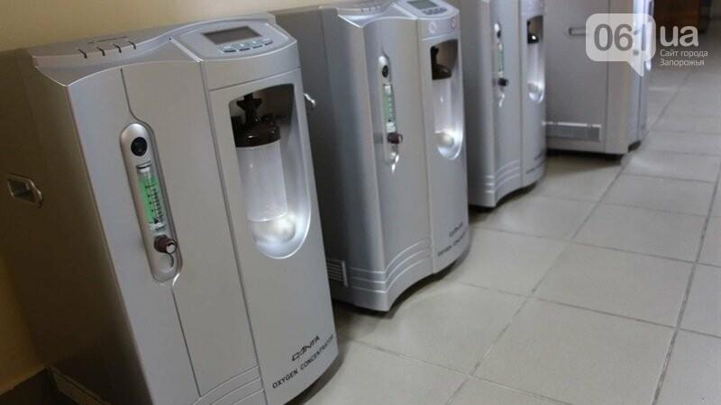 Запорожские больницы получили 50 дополнительных кислородных концентраторов, фото-5