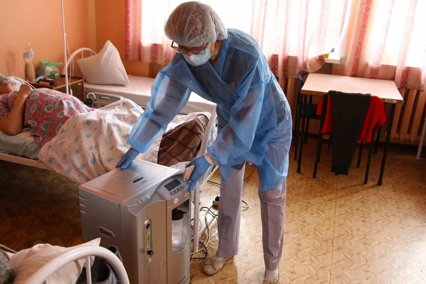 Запорожские больницы получили 50 дополнительных кислородных концентраторов, фото-2