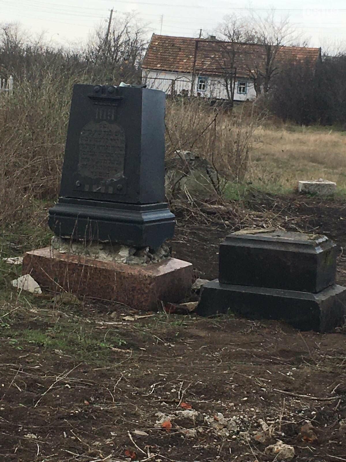 Урожай на костях: в Гуляйполе фермер распахал еврейское кладбище, - ФОТО, фото-11
