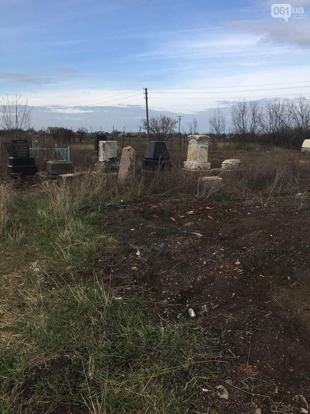 Урожай на костях: в Гуляйполе фермер распахал еврейское кладбище, - ФОТО, фото-6