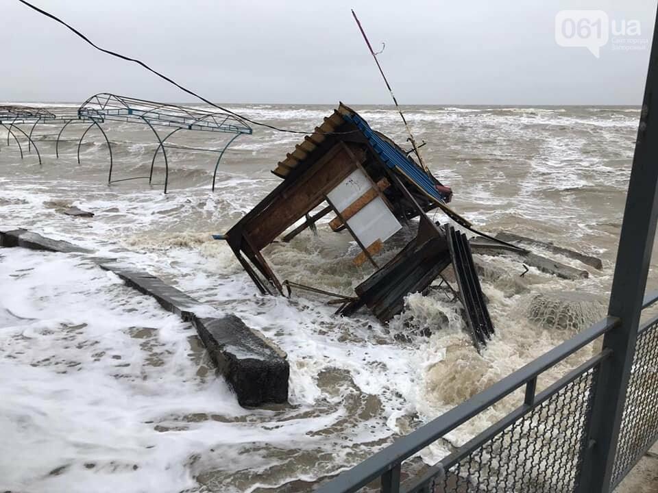 В сети показали, как выглядит затопленная Кирилловка с высоты птичьего полета, - ВИДЕО, фото-11
