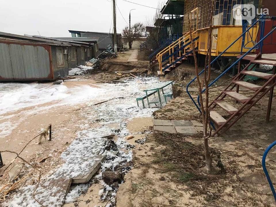 В сети показали, как выглядит затопленная Кирилловка с высоты птичьего полета, - ВИДЕО, фото-10