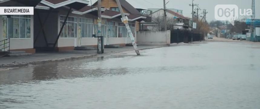 В сети показали, как выглядит затопленная Кирилловка с высоты птичьего полета, - ВИДЕО, фото-6