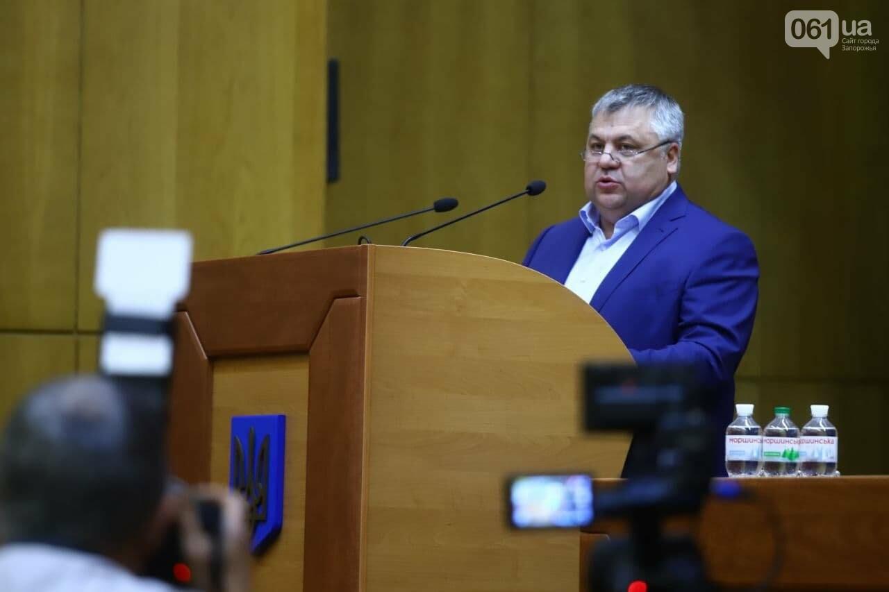 Две партии отозвали своих кандидатов и отказались голосовать за главу Запорожского областного совета, фото-1