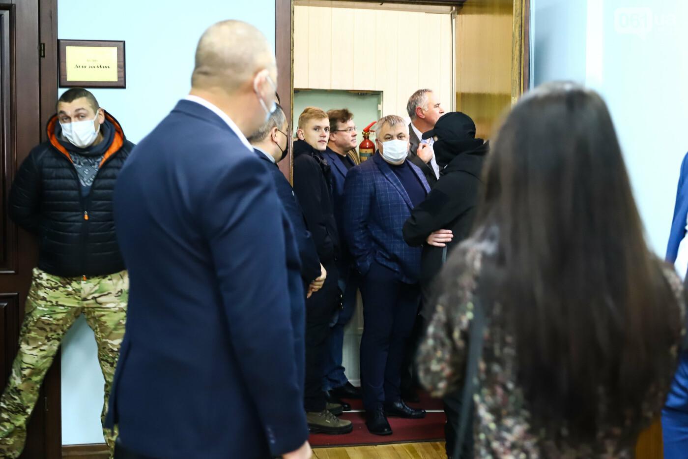 """Тайная """"сессия"""", сотни правоохранителей и стычки с активистами - что происходило в здании Запорожского облсовета, - ФОТО, ВИДЕО , фото-15"""