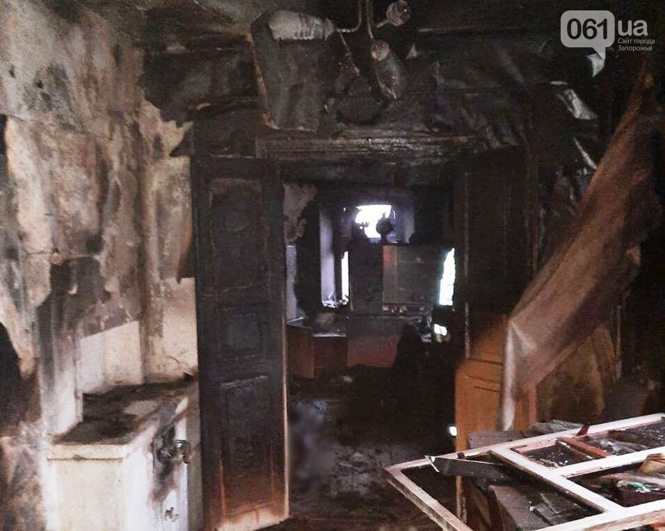 В Запорожской области во время пожара погиб 62-летний мужчина, фото-1