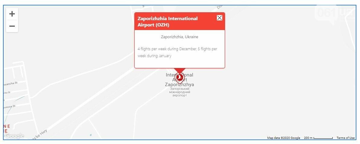 Turkish Airlines увеличивает количество рейсов в Стамбул из Запорожья , фото-1