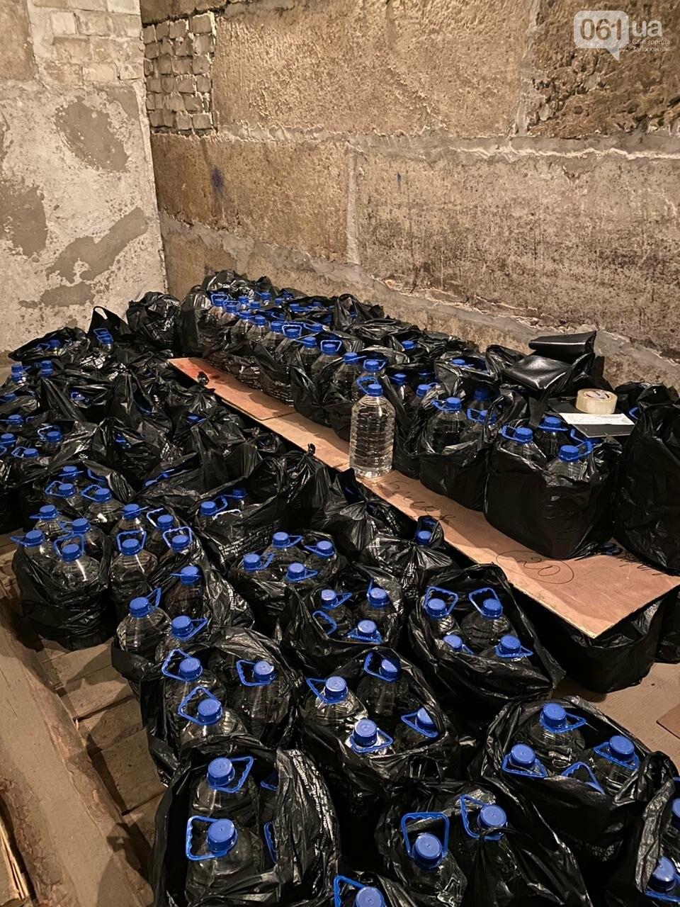 В Запорожской области обнаружили 2,5 тонны фальсифицированного алкоголя, фото-12
