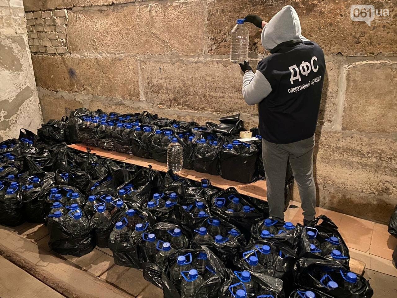 В Запорожской области обнаружили 2,5 тонны фальсифицированного алкоголя, фото-2