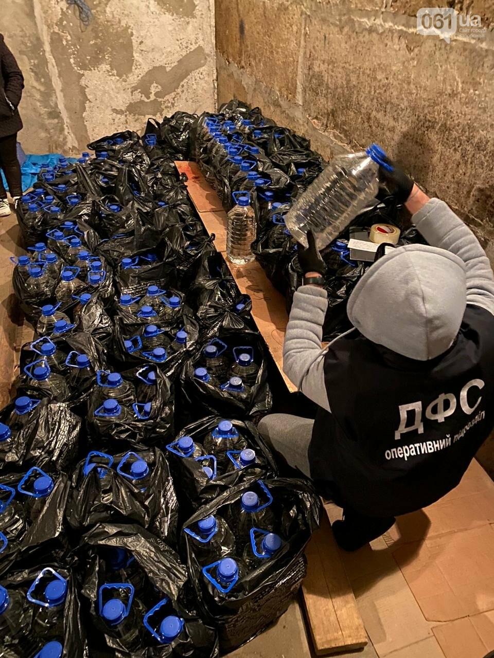 В Запорожской области обнаружили 2,5 тонны фальсифицированного алкоголя, фото-1