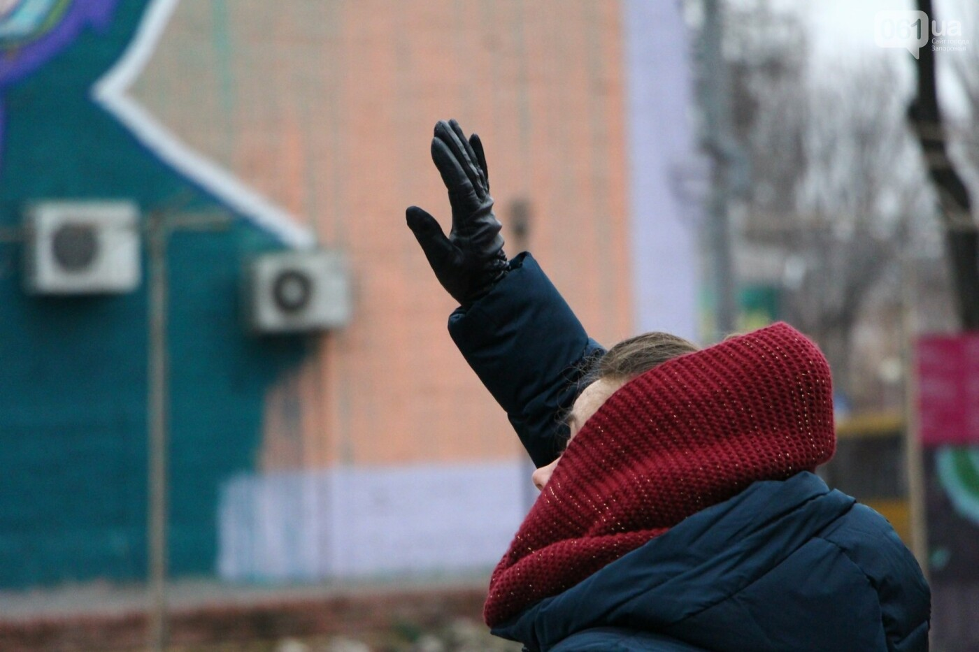 В Запорожье в сквере Театральном установили 12-метровую елку, фото-5