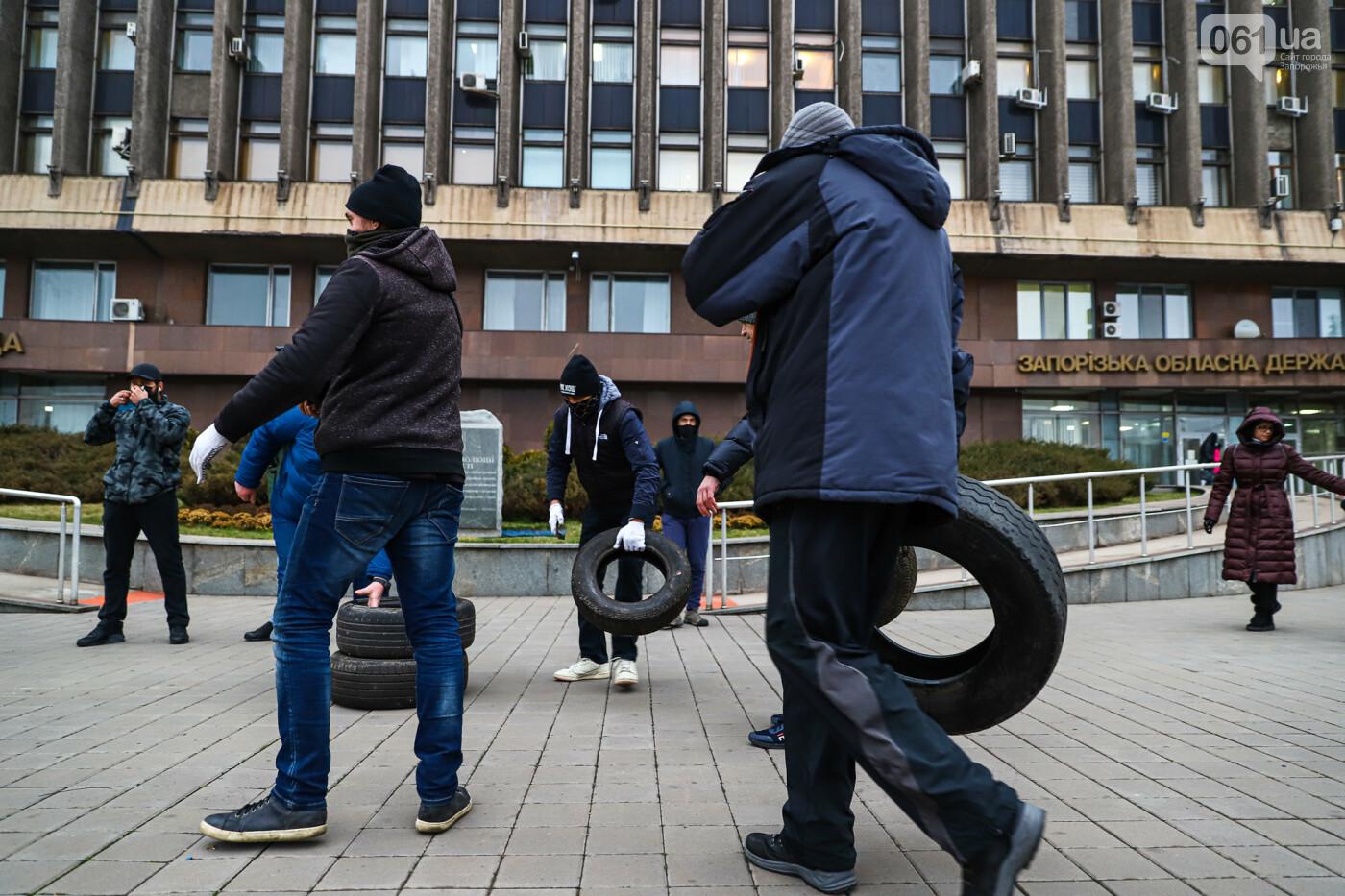 Митинг под зданием облсовета в фотографиях, фото-3