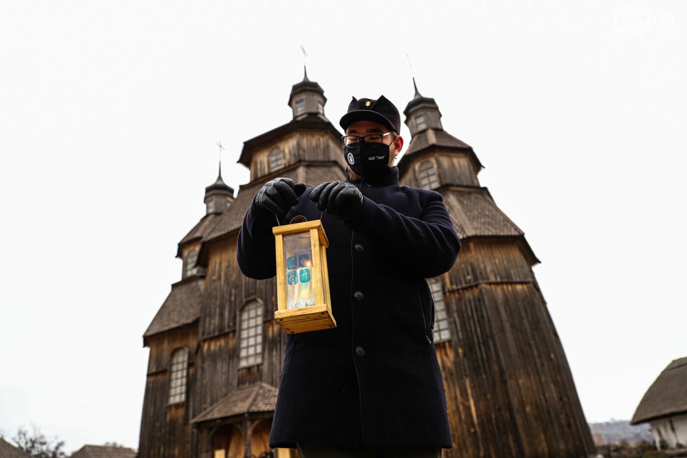 На Хортице скауты передали священникам Вифлеемский огонь, - ФОТОРЕПОРТАЖ, фото-3
