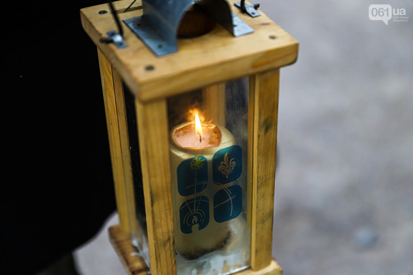 На Хортице скауты передали священникам Вифлеемский огонь, - ФОТОРЕПОРТАЖ, фото-5