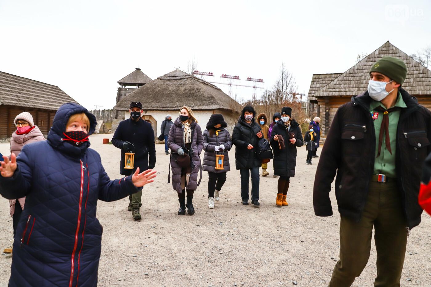 На Хортице скауты передали священникам Вифлеемский огонь, - ФОТОРЕПОРТАЖ, фото-9
