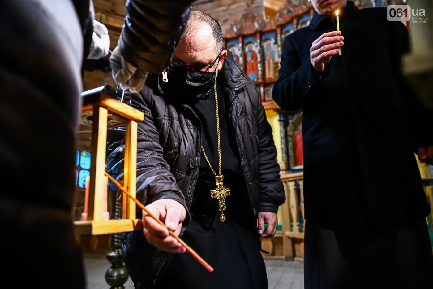 На Хортице скауты передали священникам Вифлеемский огонь, - ФОТОРЕПОРТАЖ, фото-12