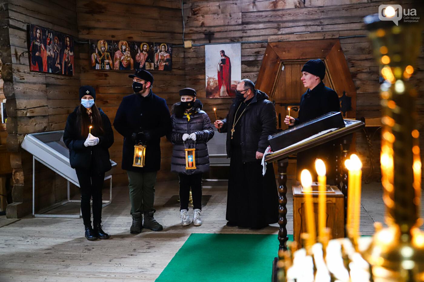 На Хортице скауты передали священникам Вифлеемский огонь, - ФОТОРЕПОРТАЖ, фото-19