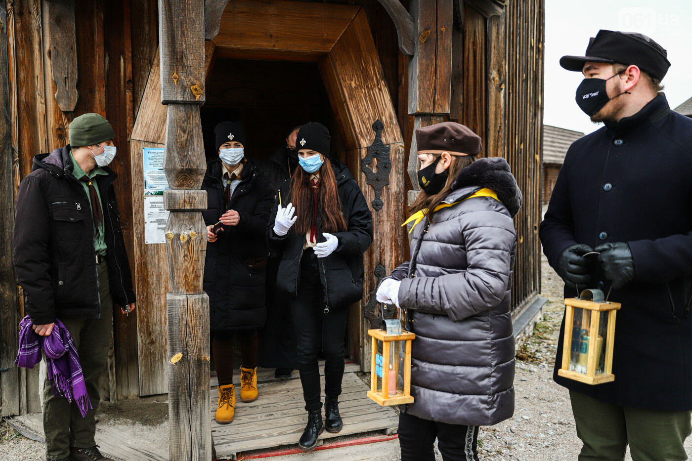 На Хортице скауты передали священникам Вифлеемский огонь, - ФОТОРЕПОРТАЖ, фото-21