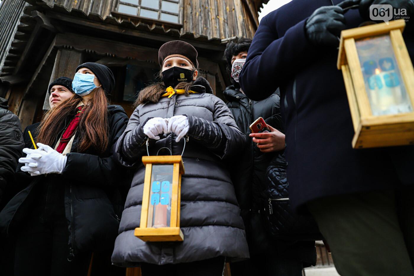 На Хортице скауты передали священникам Вифлеемский огонь, - ФОТОРЕПОРТАЖ, фото-22