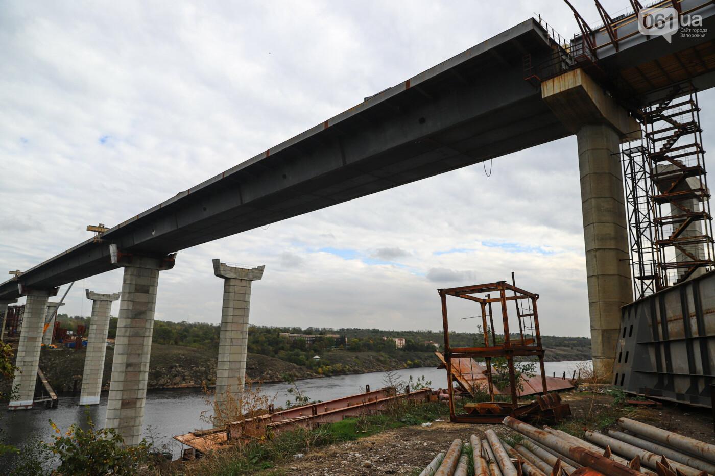 Строительство балочного моста, осень-зима 2020