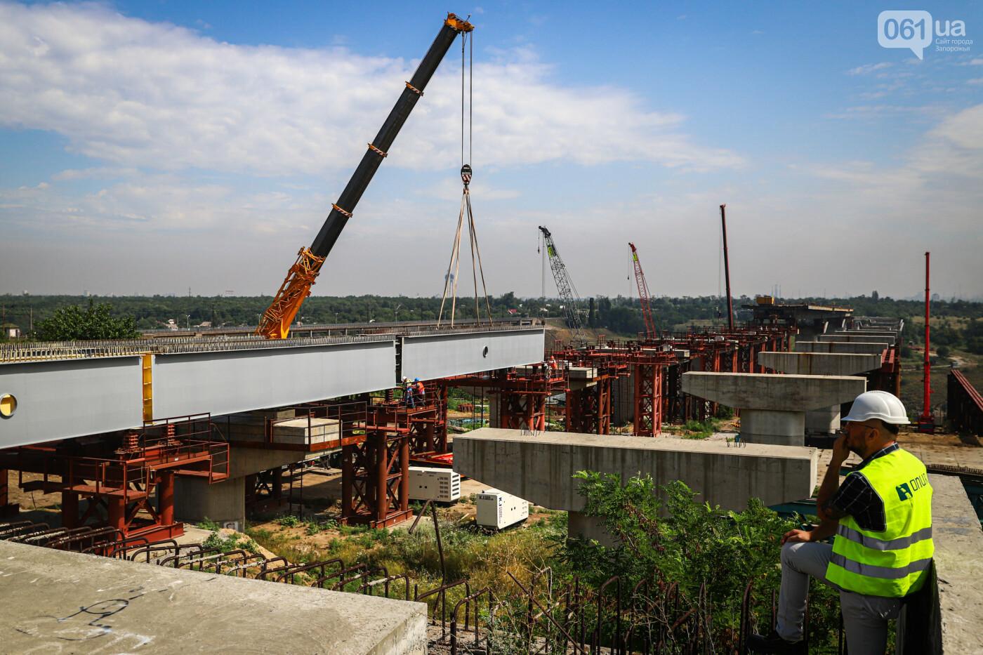 Строительство балочного моста, лето 2020, лето 2020