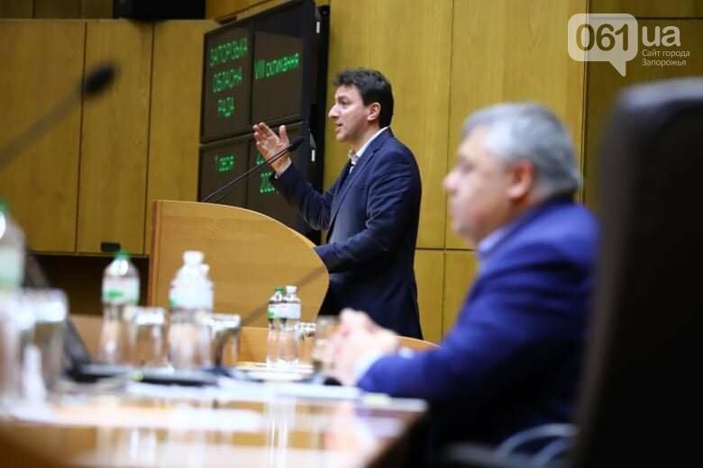 Депутаты Запорожского облсовета собрались на сессию, часть народных избранников говорят, что она нелегитимна , фото-14