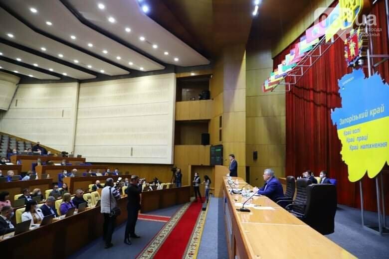 Депутаты Запорожского облсовета собрались на сессию, часть народных избранников говорят, что она нелегитимна , фото-13