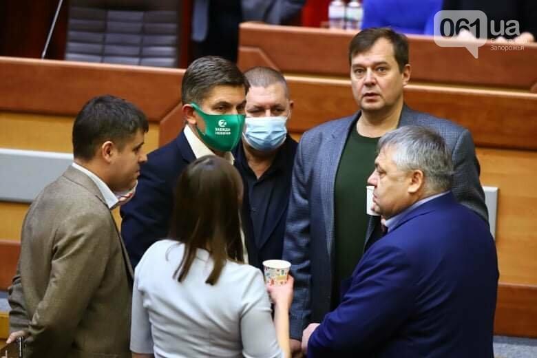 Депутаты Запорожского облсовета собрались на сессию, часть народных избранников говорят, что она нелегитимна , фото-2