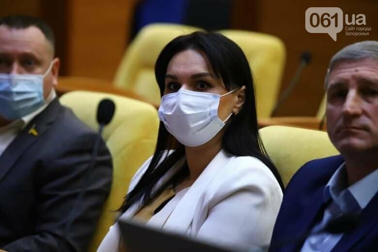 Депутаты Запорожского облсовета собрались на сессию, часть народных избранников говорят, что она нелегитимна , фото-7