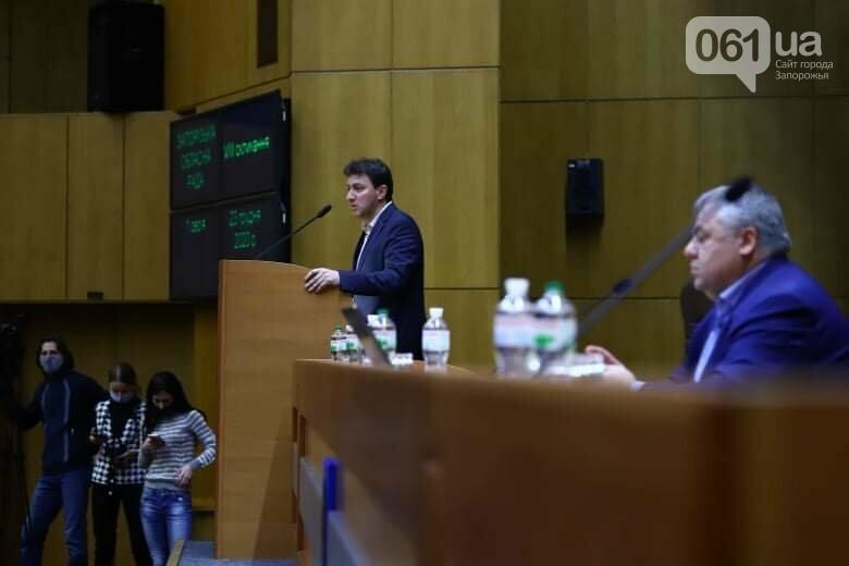 Депутаты Запорожского облсовета собрались на сессию, часть народных избранников говорят, что она нелегитимна , фото-12