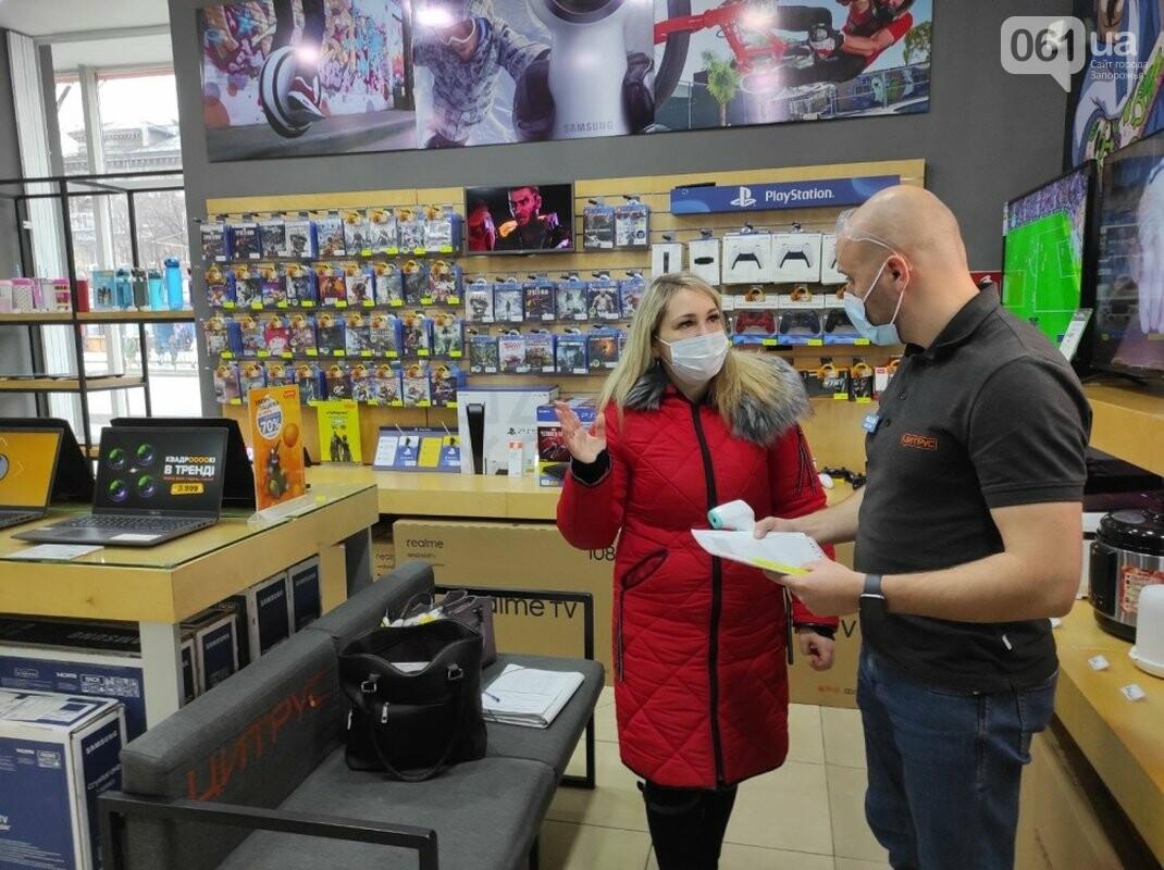 В парикмахерских и продуктовых магазинах Запорожской области фиксируют наибольшее число карантинных нарушений, фото-2