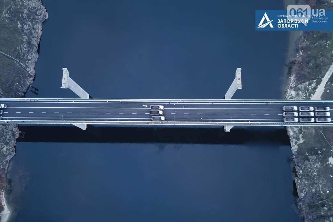 В Запорожье балочный мост прошел испытания - по нему проехало 18 грузовиков, - ФОТО, фото-3