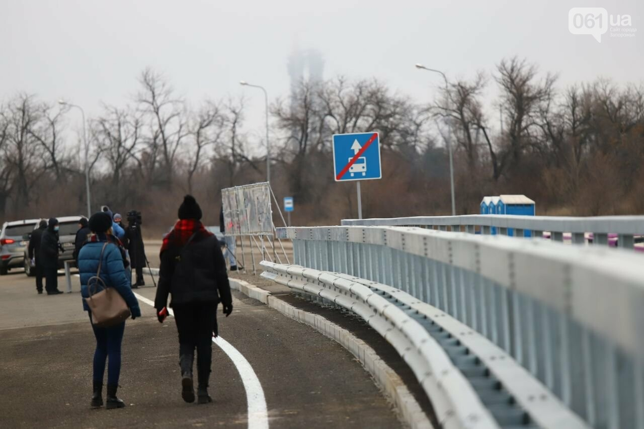 Зеленский в Запорожье проехал по новому мосту, - ФОТОРЕПОРТАЖ, фото-13