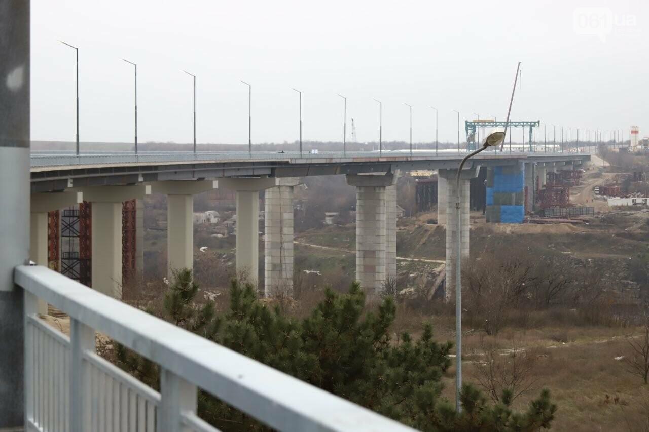 Зеленский в Запорожье проехал по новому мосту, - ФОТОРЕПОРТАЖ, фото-17