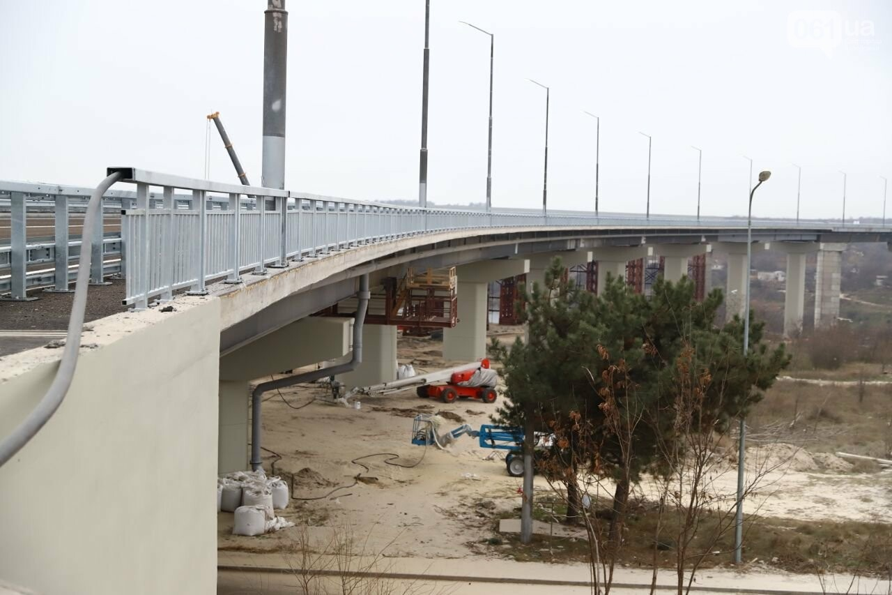 Зеленский в Запорожье проехал по новому мосту, - ФОТОРЕПОРТАЖ, фото-11