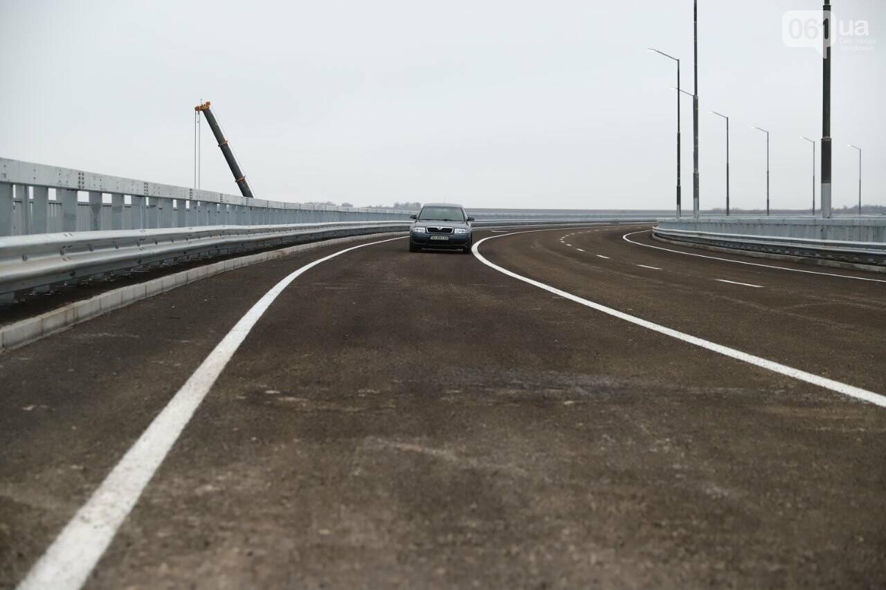 Зеленский в Запорожье проехал по новому мосту, - ФОТОРЕПОРТАЖ, фото-18